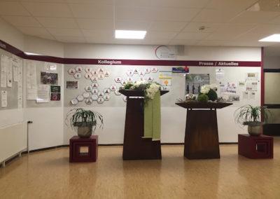 Wartebereich vor dem Schulbüro