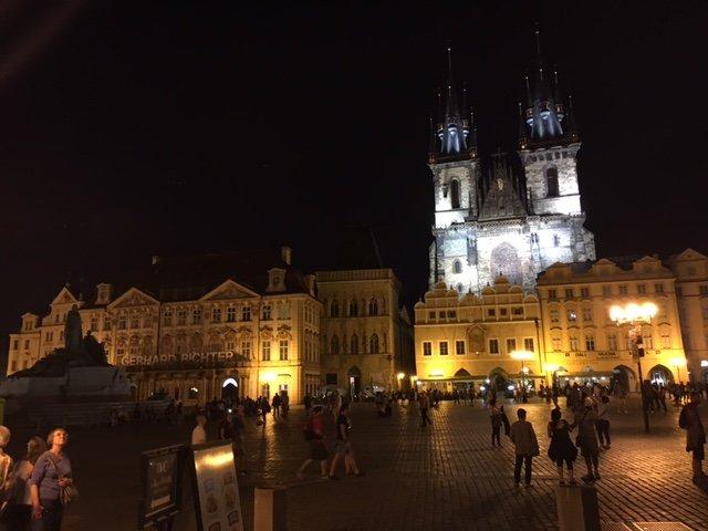 Klassenfahrt F2A in Prag