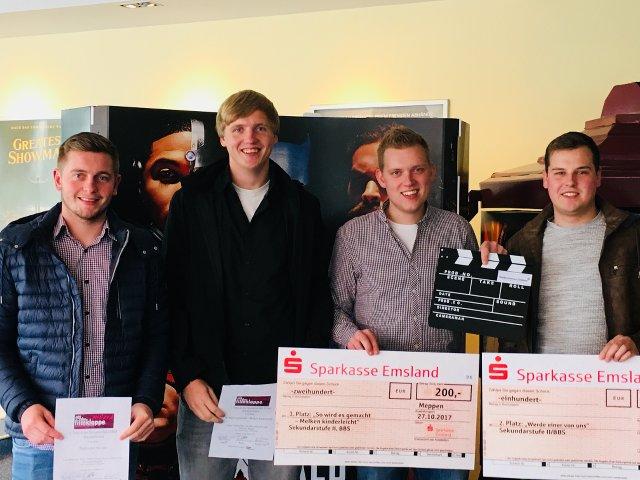 Filmklappe Emsland 2017 - Unsere Gewinner