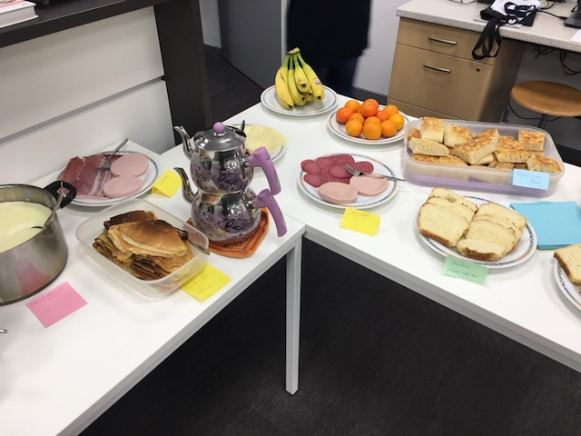 Interkulturelles Frühstück