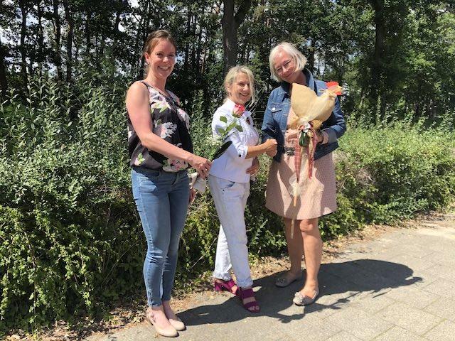 v.l.n.r.: Frau Jansen, Frau Niewiera, Frau Pölking-Oeßelmann